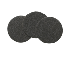 "Silicon Carbide Paper, Grit 120. 32 mm (1¼"") dia. 100 pcs."