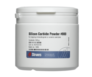 Silicon Carbide Powder, Grit 800. 500 g