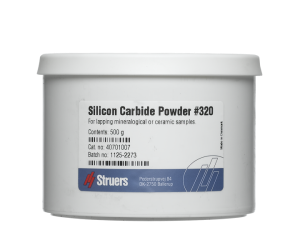 Silicon Carbide Powder, Grit 320 (FEPA F). 500 g