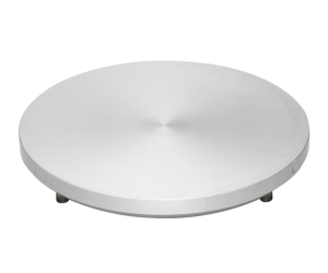 "Aluminium Disc with driving Pins, 250 mm (10"") dia."