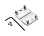 Jaws for base plate clamping tools, Extended width. For 8 mm T-slots