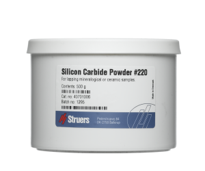 Silicon Carbide Powder, Grit 220. 500 g